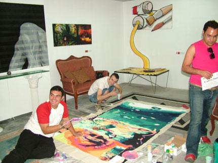 Laboratorio con giovani autori
